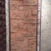 ideja par oriģinālo sienu dizainu istabu attēlā