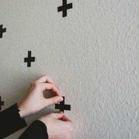 ideja par spilgtu sienu dekorēšanas foto