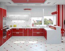 l'idée de l'intérieur original de l'image de la cuisine