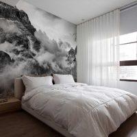 iespēja gaiši dekorēt sienas istabu attēlā