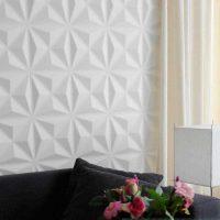 istabu attēla sienu neparastas dekorēšanas variants