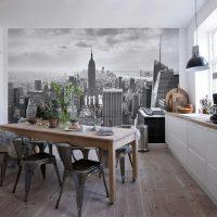 ideja par spilgtu sienas dekorēšanas attēlu