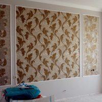 ideja par neparastu sienu dekorēšanu fotoattēla telpās
