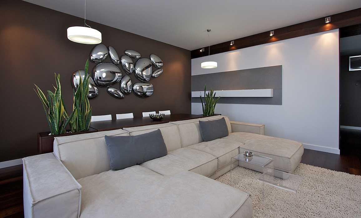 ideja par skaistu sienu dekorēšanu istabās