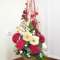 objektu skaistas dekorēšanas variants līdz 8. marta attēlam