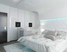 idea of modern design white bedroom picture