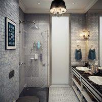 moderna vannas istabas interjera versija 6 kv.m attēlā