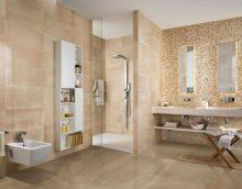 lielas vannas istabas attēla neparastā stila versija