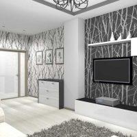neparasta dzīvokļa dizaina piemērs - 65 kv.m foto