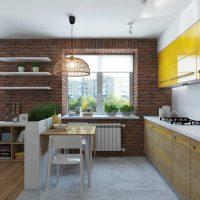skaista dzīvokļa interjera piemērs 65 kv.m foto