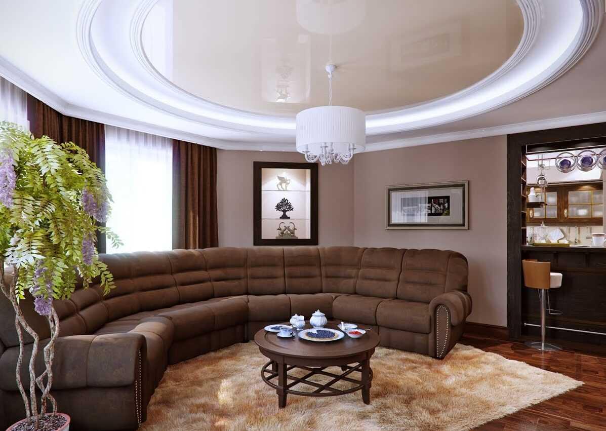 gaišs moderna dzīvokļa dizaina variants 65 kv.m platībā