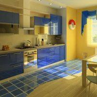 Moderna dzīvokļa skaista dizaina piemērs 65 kv.m.