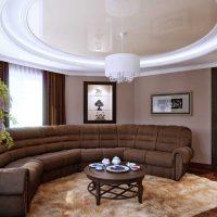 Moderna dzīvokļa spilgta interjera piemērs 65 kv.m.