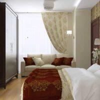 moderna dzīvokļa neparasta dekora piemērs - 65 kv.m foto