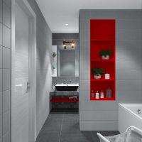 moderna dzīvokļa gaismas dekoru piemērs - 65 kv.m foto