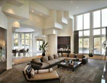 ideja par neparastu dzīvokļa stilu ar otru gaismas attēlu