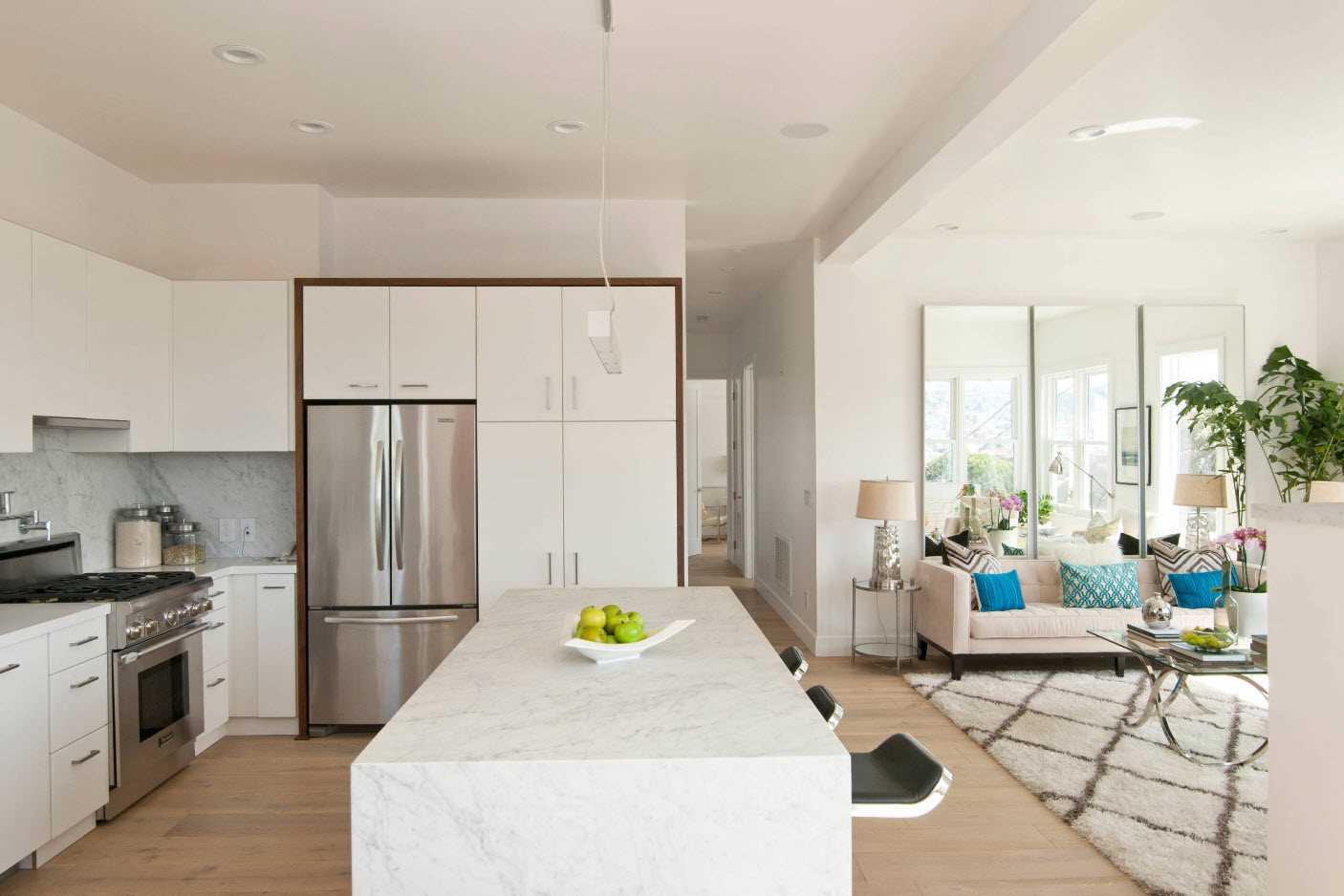 skaista dzīvokļa dekora piemērs 65 kv.m.