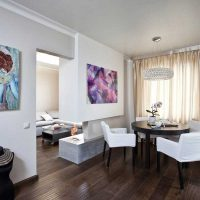 moderna dzīvokļa spilgta dizaina iespēja 65 kv.m foto