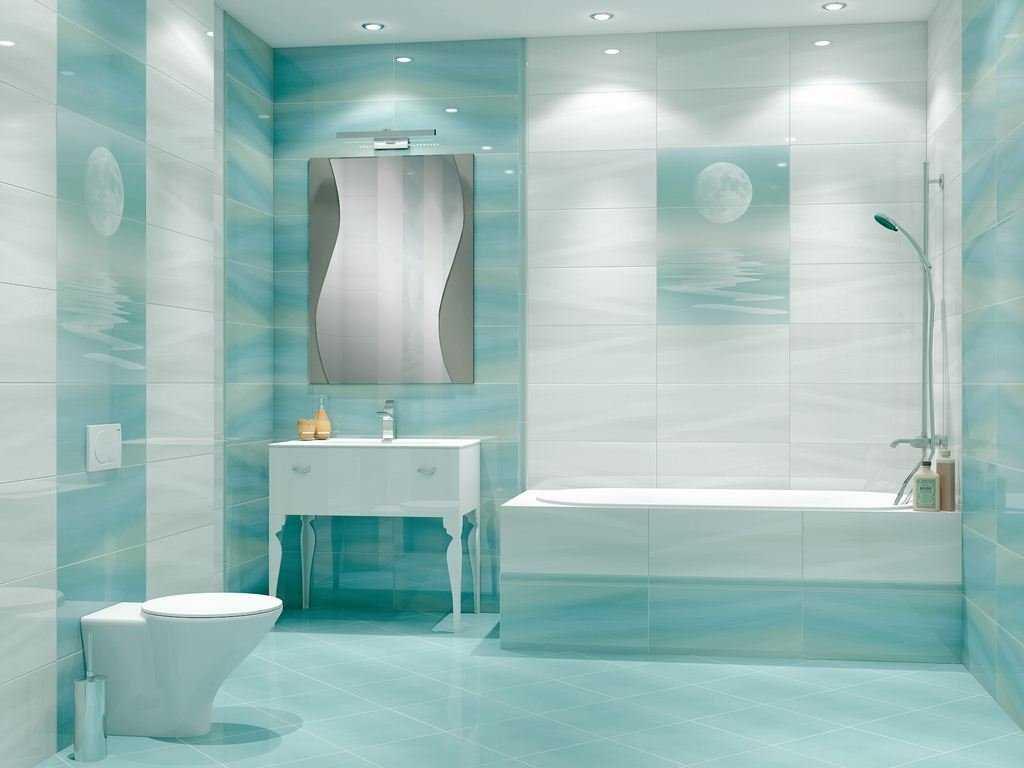 moderna vannas istabas stila opcija 6 kv.m platībā