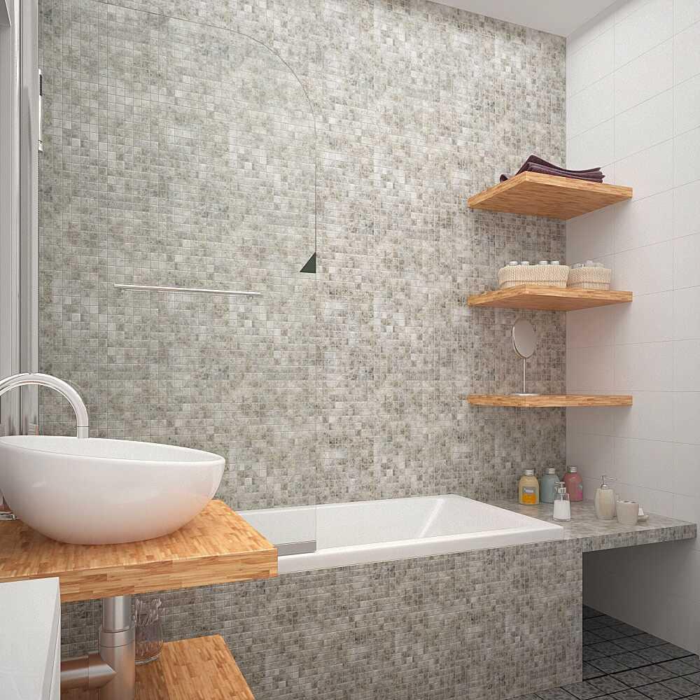 gaiša vannas istabas interjera iespēja ar platību 6 kv.m