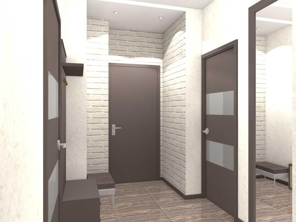 Moderna, 65 kv.m liela dzīvokļa skaista dizaina piemērs