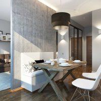 dzīvokļa skaista dizaina variants 65 kv.m foto
