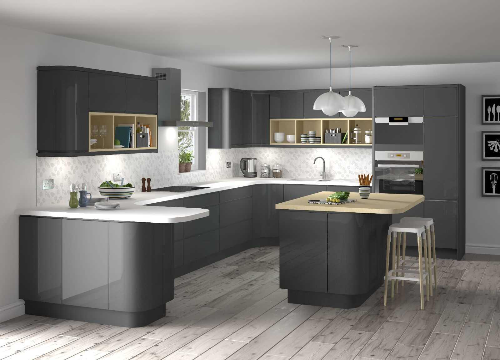 skaista virtuves dekora izmantošanas piemērs