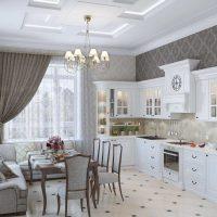 ideja izmantot neparastu stila virtuves attēlu