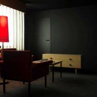 interesanta dzīvokļa stila versija padomju stila fotoattēlā
