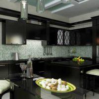 iespēja izmantot skaistu virtuves interjera attēlu