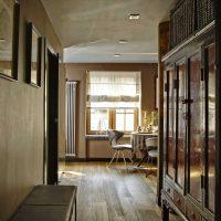 interesanta istabas interjera variants padomju stila fotoattēlā