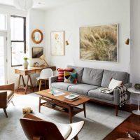 ideja par neparastu istabas stilu padomju stila fotoattēlā