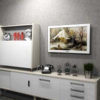 istabas gaišā dizaina variants padomju stila attēlā