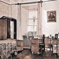 ideja par neparastu dzīvokļa stilu padomju stila fotoattēlā