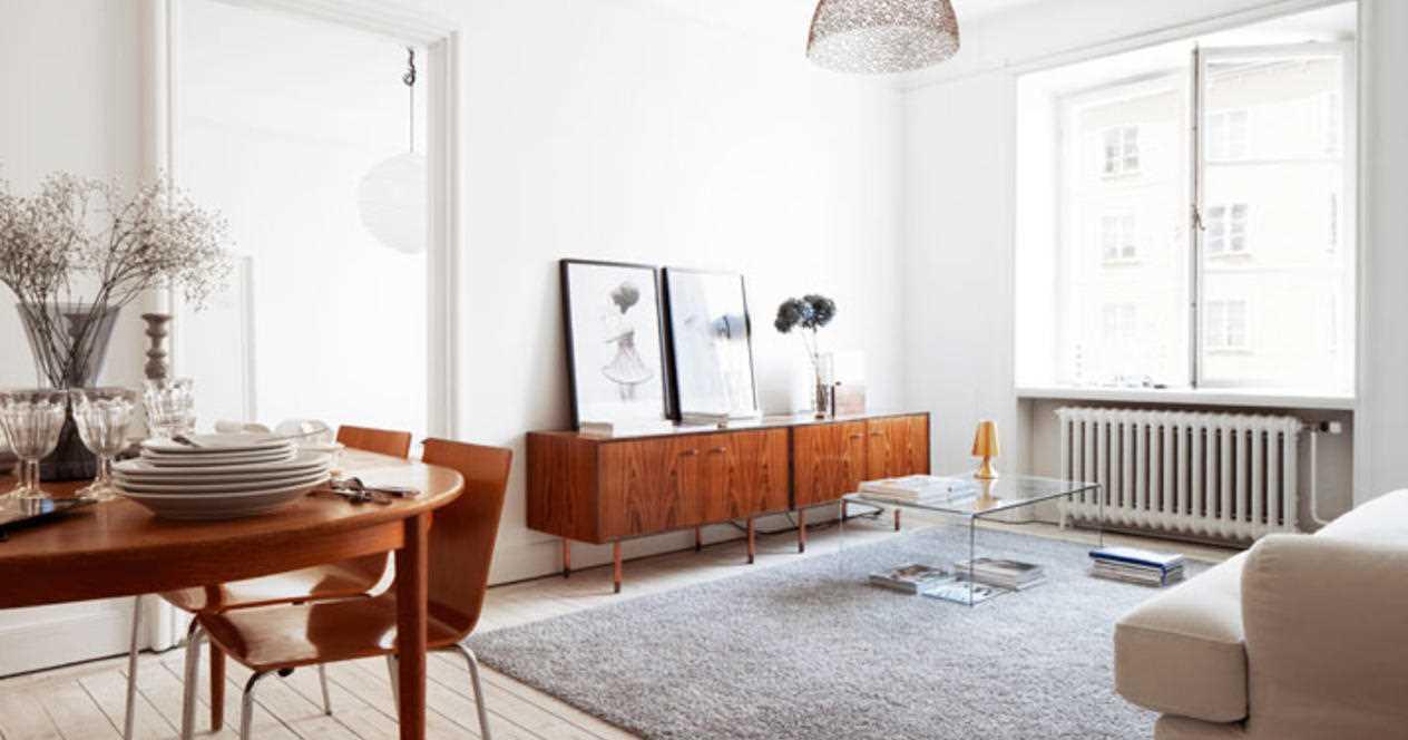 ideja par gaiša stila dzīvokli padomju stilā