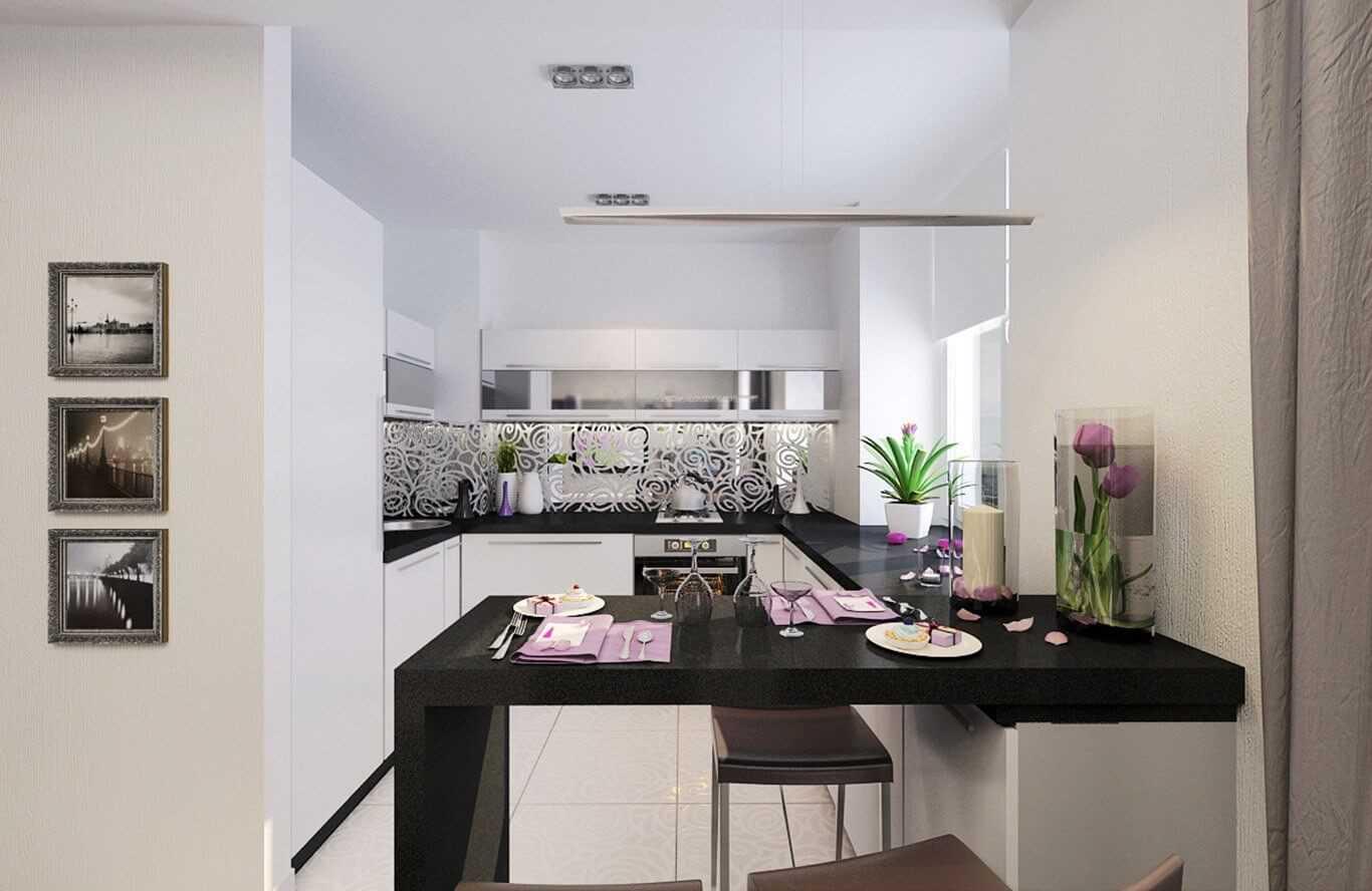 ideja piemērot skaistu virtuves stilu
