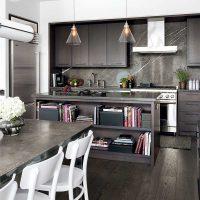 ideja piemērot skaista stila virtuves attēlu