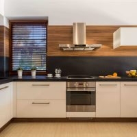Neparasta virtuves dizaina foto izmantošanas piemērs