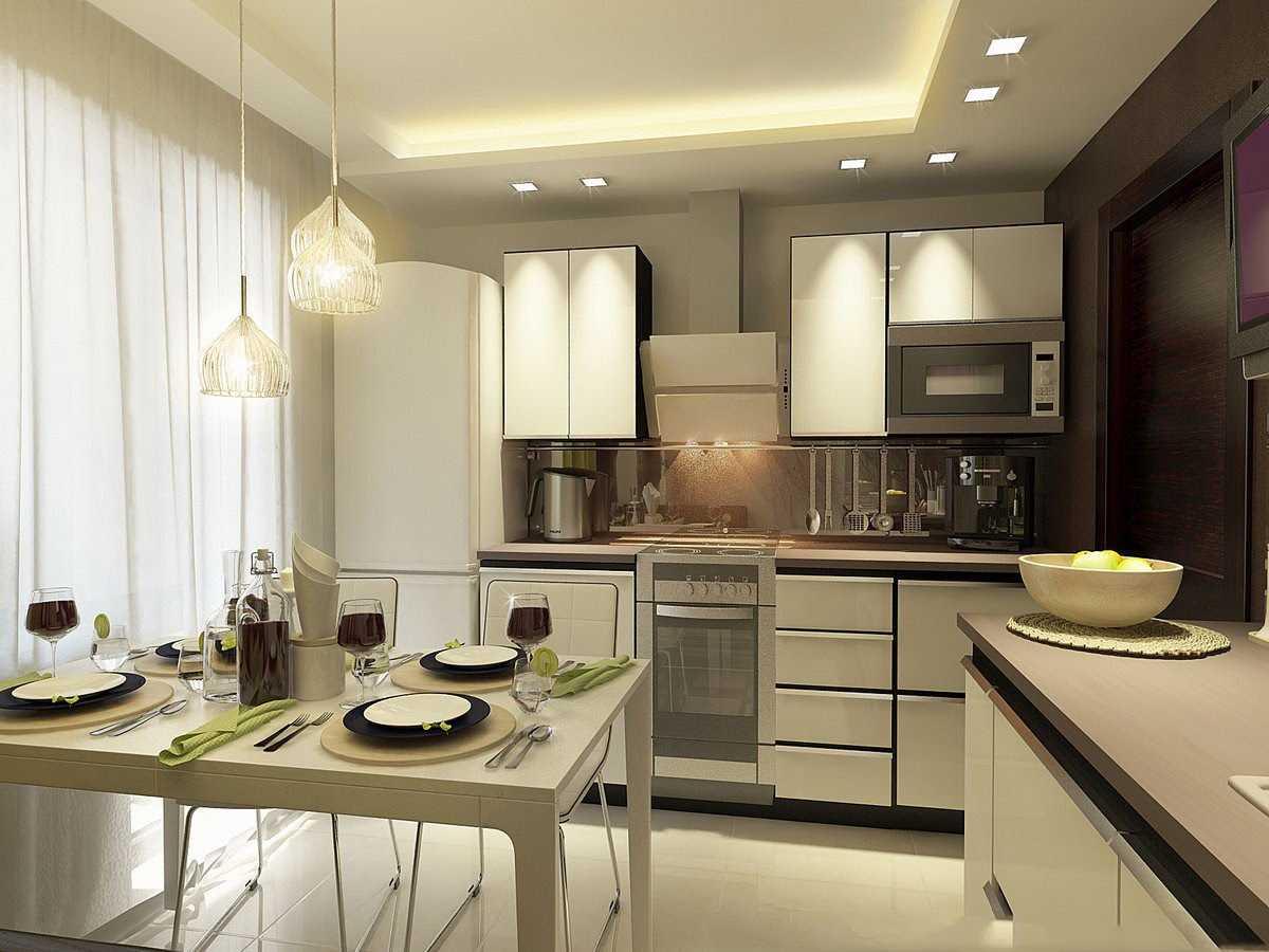 ideja izmantot vieglu virtuves dekoru