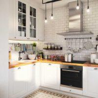 skaista virtuves interjera foto izmantošanas piemērs
