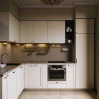 opcija spilgta virtuves dizaina foto uzklāšanai