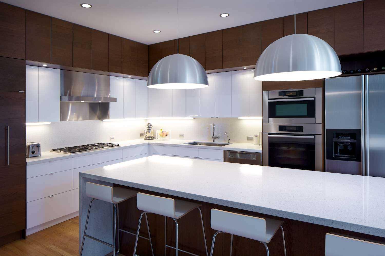 iespēja izmantot neparastu virtuves interjeru