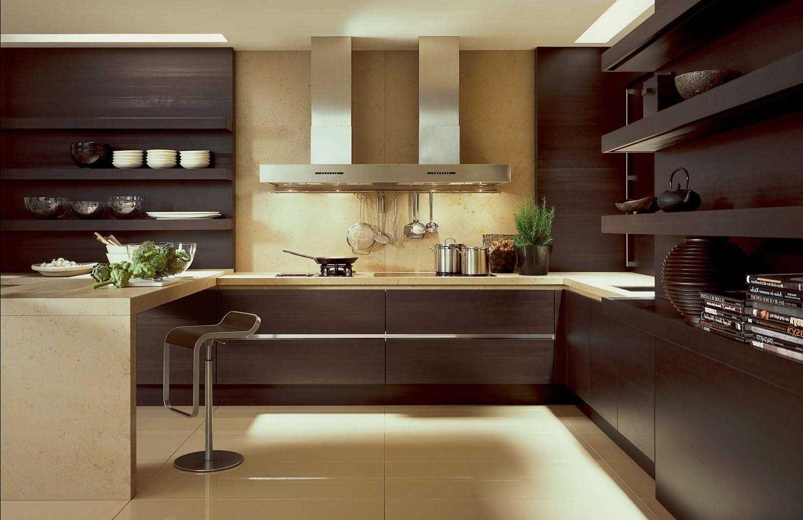 skaista virtuves dizaina piemērošanas piemērs