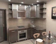 idée d'une cuisine lumineuse de 8 m² photo