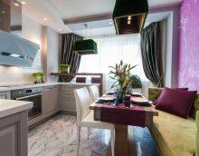 l'idée d'un beau style de cuisine photo 9 m²