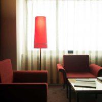interesanta istabas dekora variants padomju stila fotoattēlā