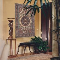 interesanta istabas interjera variants padomju stila attēlā