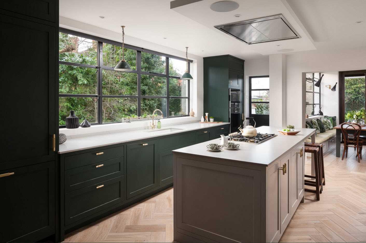 skaista virtuves dekora piemērošanas piemērs