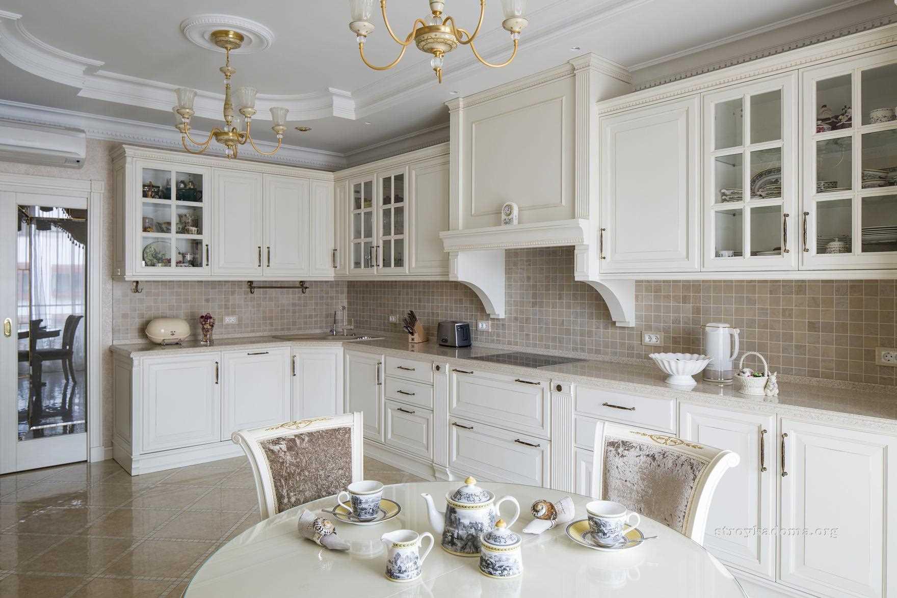 iespēja izmantot skaistu virtuves dizainu