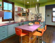 l'idée d'un décor de cuisine lumineux photo 14 m²